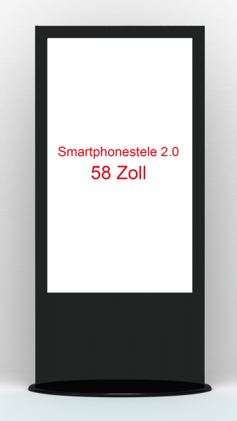 Smartphonestele 2.0 58 Zoll Touch